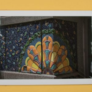 photo of the mural Garden of Transformation, Summer 2007