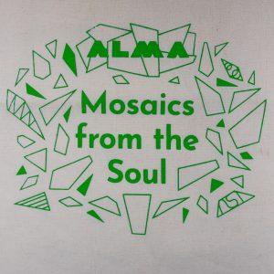 graphic image of ALMA Canvas Tote, Green Design