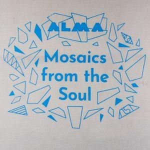 graphic image of ALMA Canvas Tote, Iridescent Tote